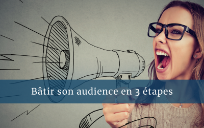 Bâtir son audience en 3 étapes